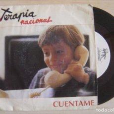 Discos de vinilo: TERAPIA NACIONAL - POR VERTE FELIZ - CUENTAME - SINGLE PROMOCIONAL 1993 - SALAMANDRA. Lote 121249003