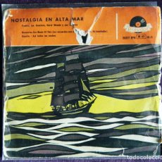 Discos de vinilo: NOSTALGIA EN ALTA MAR / FREDDY, LOS DOMINÓS, HORST WENDE Y SUS SOLISTAS.. Lote 121249159