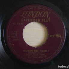 Vinyl records - WOODY HERMAN AND THE NEW THIRD HERD - HERD FROM MARS VOLUME 1 - SINGLE UK - LONDON - 121250679