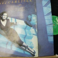 Discos de vinilo: BELINDA CARLISLE - HEAVEN ON EARTH - ESPAÑOL 1987. Lote 121253091