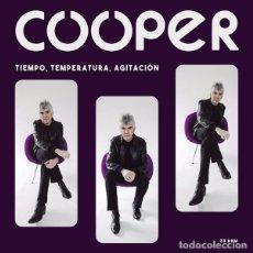 Discos de vinilo: LP COOPER TIEMPO, TEMPERATURA, AGITACION VINILO NEGRO LOS FLECHAZOS MOD. Lote 123161603
