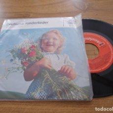 Discos de vinilo: DEUTSCHE KINDERLIEDER.. Lote 121264231