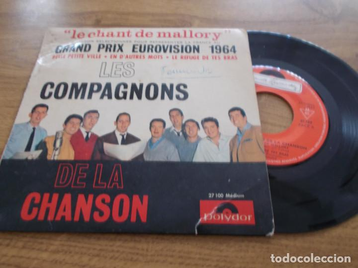 LES COMPAGNONS DE LA CHANSON. EUROVISION 1964 (Música - Discos de Vinilo - EPs - Festival de Eurovisión)