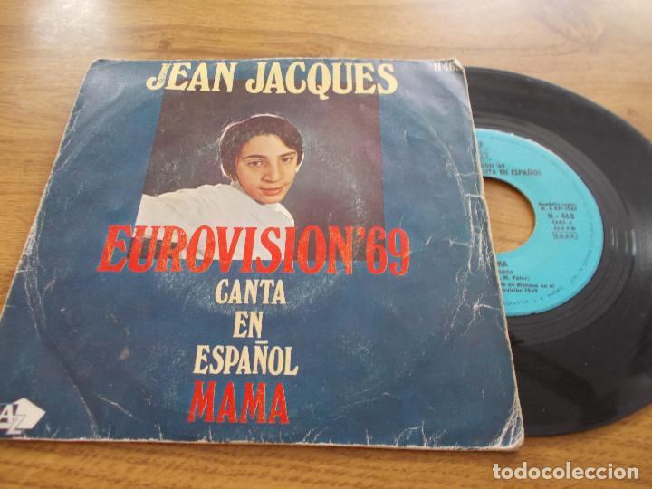 JEAN JACQUES EUROVISION 69, CANTA EN ESPAÑOL MAMA (Música - Discos de Vinilo - EPs - Festival de Eurovisión)