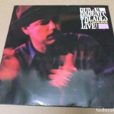 Discos de vinilo: RUBEN BLADES Y SON DEL SOLAR (LP) LIVE AÑO 1990 – DOBLE DISCO. Lote 243913835