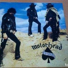 Discos de vinilo: MOTORHEAD ACE OF SPADES LP VINILO AZUL. Lote 287885133