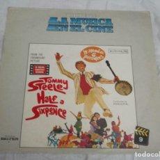 Discos de vinilo: HISTORIA DE LA MUSICA EN EL CINE-LA MITAD DE SEIS PENIQUES-N 9. Lote 121281603