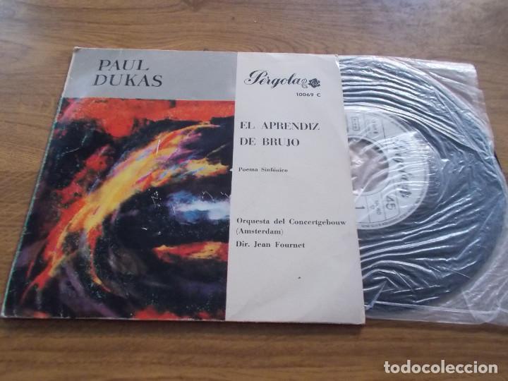 PAUL DUKAS. EL APRENDIZ DE BRUJO. POEMA SINFONICO (Música - Discos - Singles Vinilo - Clásica, Ópera, Zarzuela y Marchas)