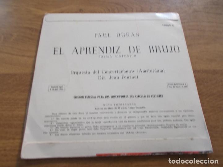 Discos de vinilo: PAUL DUKAS. EL APRENDIZ DE BRUJO. POEMA SINFONICO - Foto 2 - 121282131