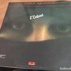 Discos de vinilo: VANGELIS PAPATHANASSIOU (OPERA SAUVAGE) L'ENFANT) MAXI SINGLE ESPAÑA 1983 (VIN-A2). Lote 121291327