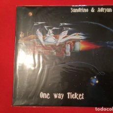 Discos de vinilo: SANDRINO - ONE WAY TICKET. Lote 121295911
