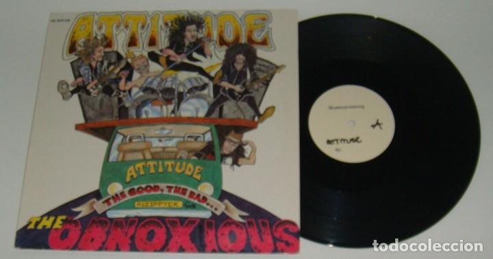 MINI LP - ATTITUDE - THE GOD,THE BAND...THE OBNOXIOUS - ATTITUDE (Música - Discos - LP Vinilo - Punk - Hard Core)