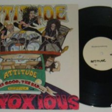 Vinyl records - MINI LP - ATTITUDE - THE GOD,THE BAND...THE OBNOXIOUS - ATTITUDE - 121313483