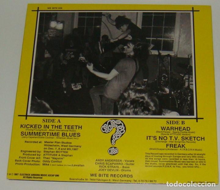 Discos de vinilo: MINI LP - ATTITUDE - THE GOD,THE BAND...THE OBNOXIOUS - ATTITUDE - Foto 2 - 121313483