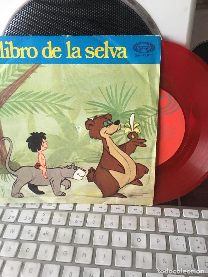 EL LIBRO DE LA SELVA-1971-VINILO ROJO (Música - Discos - Singles Vinilo - Música Infantil)