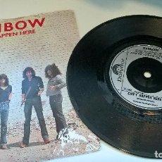 Discos de vinilo: MUSICA SINGLE RAINBOW CAN´T HAPPEN HERE (UK) POLYDOR 1981 QA.E . Lote 121317435