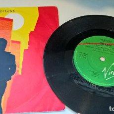 Dischi in vinile: MUSICA SINGLE GILLAN RESTLESS VIRGIN 1981 EX DEEP PURPLE QA.E . Lote 121323127