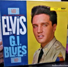 Discos de vinilo: {ELVIS PRESLEY} G.I.BLUES ? LP ? - - GERMANY / EX/EX. Lote 121323915