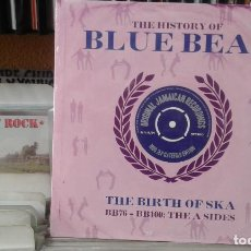 Discos de vinilo: THE HISTORY OF BLUE BEAT,THE BIRTH OF SKA,BB76-BB100,THE A SIDES,2 LPS PRECINTADO. Lote 121324015