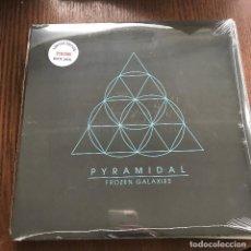 Discos de vinilo: PYRAMIDAL - FROZEN GALAXIES - LP KRAUTED MIND 2013 NUEVO - VINILO BLANCO. Lote 121324083