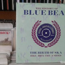 Discos de vinilo: THE HISTORY OF BLUE BEAT,THE BIRTH OF SKA,BB51-BB75,THE A SIDES,2 LPS PRECINTADO. Lote 121324127