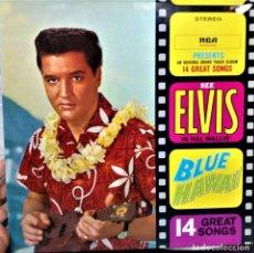 Discos de vinilo: {ELVIS PRESLEY} BLUE HAWAII ■ LP ■ - - GERMANY / VG+/VG+. Lote 121325295