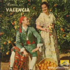 Discos de vinilo: ROGELIO BALDRICH / BANDA MUNICIPAL DE VALENCIA. EP. SELLO LA VOZ DE SU AMO. EDIT EN ESPAÑA. AÑO 1958. Lote 121340495