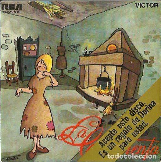 LA CENICIENTA. EP. SELLO RCA VICTOR. EDITADO EN ESPAÑA. AÑO 1967 (Música - Discos de Vinilo - EPs - Música Infantil)