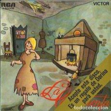 Discos de vinilo: LA CENICIENTA. EP. SELLO RCA VICTOR. EDITADO EN ESPAÑA. AÑO 1967. Lote 121341127