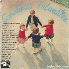 Discos de vinilo: CANCIONES INFANTILES. EP. SELLO BARCLAY. EDITADO EN ESPAÑA. AÑO 1964. Lote 121341507