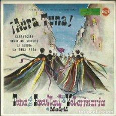 Discos de vinilo: TUNA DE LA FACULTAD DE VETERINARIA DE MADRID. EP. SELLO RCA. EDITADO EN ESPAÑA. AÑO 1960. Lote 121342271