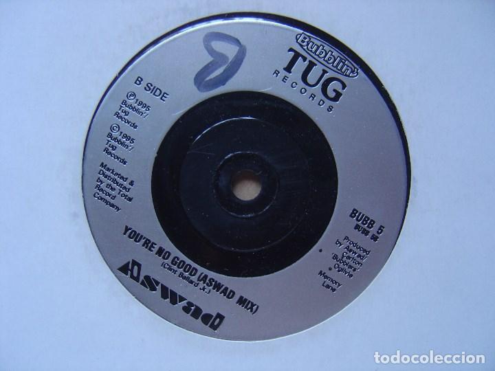 ASWAD - YOU´RE NO GOOD - SINGLE UK 1995 - TUG (Música - Discos - Singles Vinilo - Techno, Trance y House)