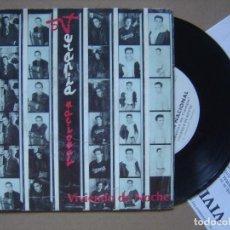 Discos de vinilo: TERAPIA NACIONAL - CUESTION DE TIEMPO - SINGLE PROMOCIONAL CON HOJA 1993 - SALAMANDRA. Lote 121352263
