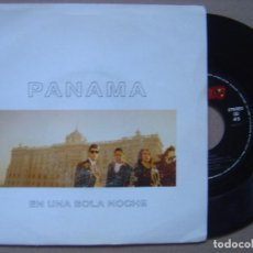 Discos de vinilo: PANAMA - EN UNA SOLA NOCHE - SINGLE PROMOCIONAL 1992 - MERCURY. Lote 121353339