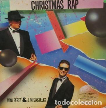 Christmas Rap Music.Toni Peret J Mª Castells Christmas Rap Max Music Max 214 Spain