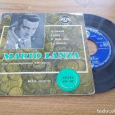 Discos de vinilo: MARIO LANZA, GRANADA, LOLITA, O SOLE MIO, LA DANZA. Lote 121360971