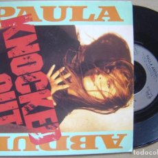 Discos de vinil: PAULA ABDUL - KNOCKED OUT - SINGLE 1990 - VIRGIN. Lote 121366755
