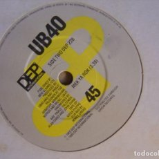 Dischi in vinile: UB40 - MEK YA ROK + DON´T BREAK MY HEART - SINGLE UK 1985 - DEP. Lote 121377711