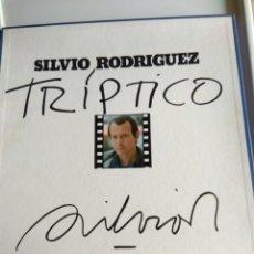 Discos de vinilo: BOX SILVIO RODRÍGUEZ, TRIPTICO. Lote 125909799