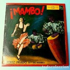 Discos de vinilo: PEREZ PRADO (EP. AÑOS 50) (NUEVO) MAMBO - LA MACARENA - MAMBO DEL FUTBOL. Lote 121385923