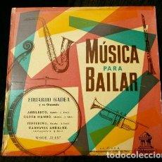 Discos de vinilo: EDUARDO GADEA Y SU ORQUESTA (EP. AÑOS 50) (NUEVO) MAMBO - MUSICA PARA BAILAR - ABRILESCO - CARNAVAL. Lote 121387323