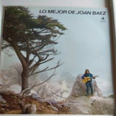 Discos de vinilo: LP JOAN BAEZ, LO MEJOR. Lote 121388711