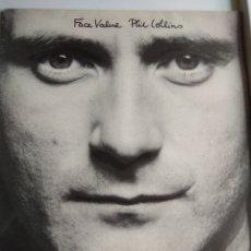Discos de vinilo: LP PHIL COLLINS, FACE VALUE. Lote 121389004