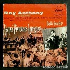 Discos de vinilo: RAY ANTHONY (EP. 1958) PAPA PIERNAS LARGAS BSO (BUEN ESTADO) SLUEFOOT - CAPITOL - FRED ASTAIRE. Lote 121392311