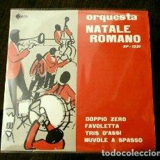 Discos de vinilo: ORQUESTA NATALE ROMANO (EP. 1960) (NUEVO) DOPPIO ZERO - FAVOLETTA. Lote 121395003