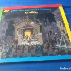Discos de vinilo: GATO PÉREZ, PROHIBIDO MALTRATAR A LOS GATOS, VER FOTOS.. Lote 121417423