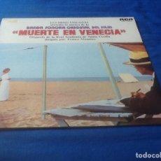 Discos de vinilo: MUERTE EN VENECIA, LUCHINO VISCONTI, VER FOTOS.. Lote 121419899