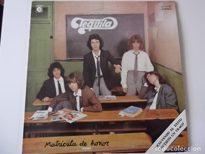 TEQUILA - MATRICULA DE HONOR (Música - Discos de Vinilo - EPs - Grupos Españoles de los 70 y 80)