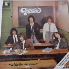 Discos de vinilo: TEQUILA - MATRICULA DE HONOR. Lote 121421223
