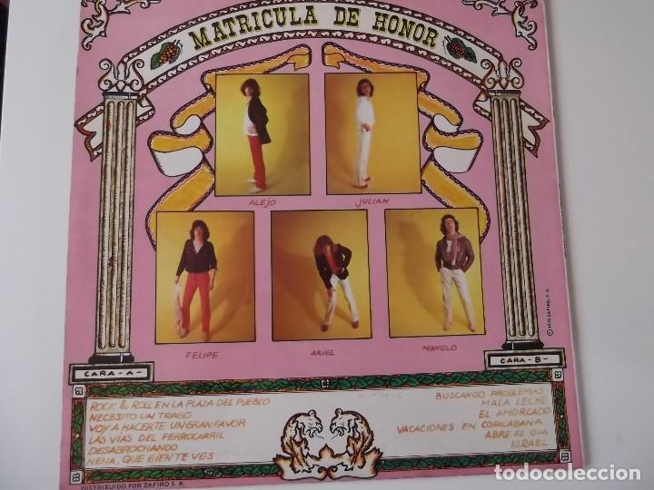 Discos de vinilo: TEQUILA - Matricula de honor - Foto 2 - 121421223